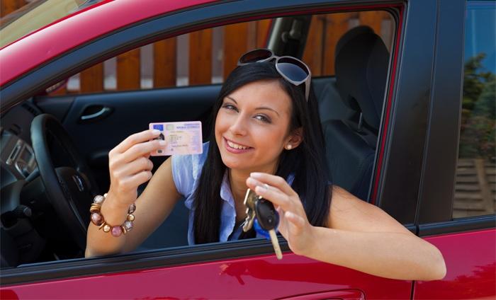 geslaagd voor auto rijbewijs